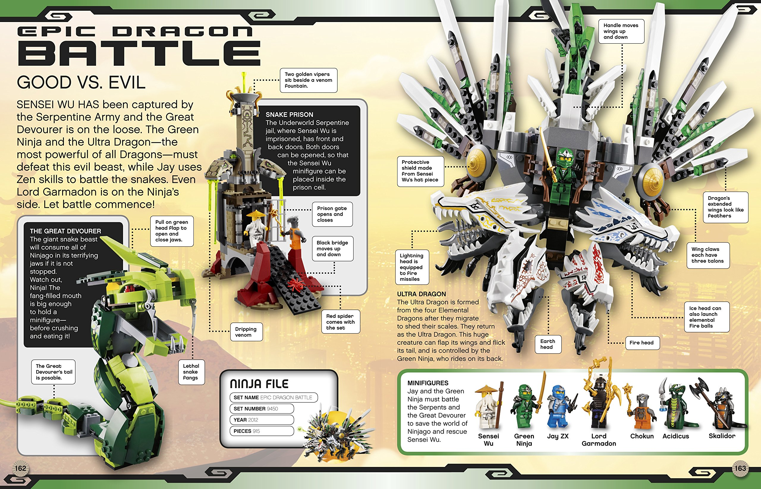 LEGO® Ninjago Character Encyclopedia: Includes Green Ninja ...