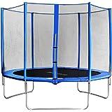 SixBros. Sixjump 3,05 M Trampoline de jardin bleu Certifié par Intertek / GS - Filet de sécurité - CST305/L1687