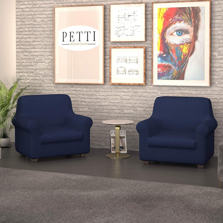 PETTI Artigiani Italiani Azul, Sofa Elasticas, Fundas para ...