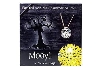 Erinnerungen Aufbewahren mooyli trauer ein personalisierter kristall als besondere