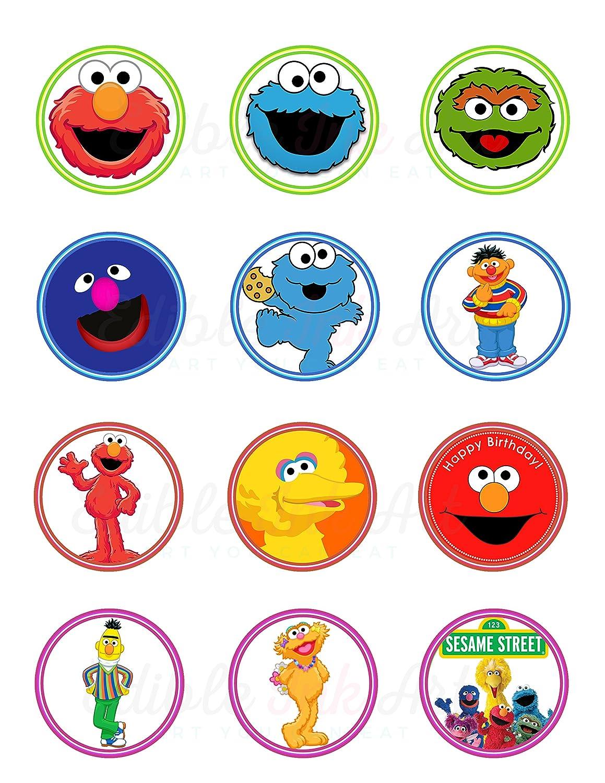 Sesame Street Elmo Cookie Monster Abby Bert Ernie Big