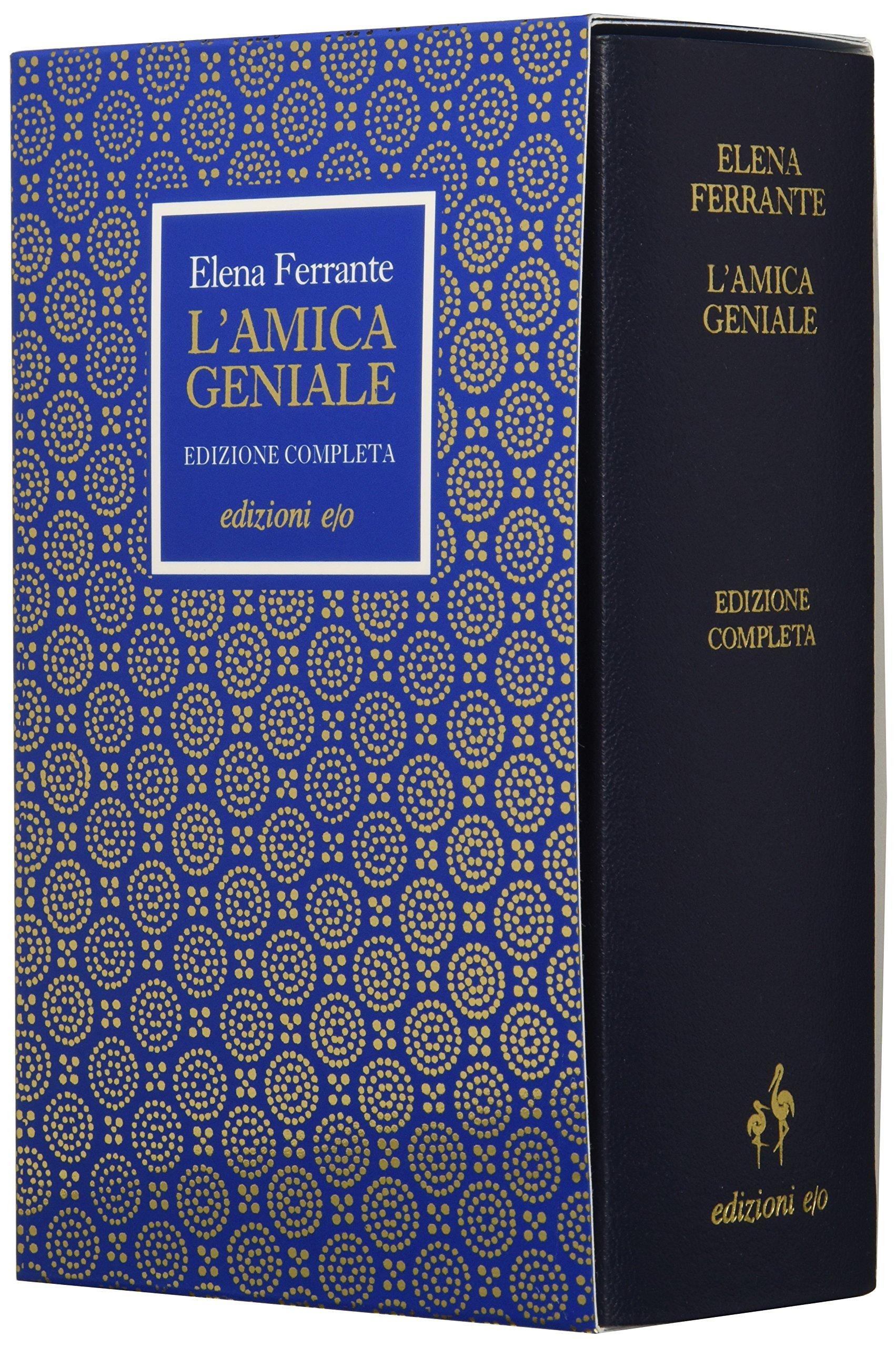 L'amica geniale. Edizione completa Rilegato in Pelle – 19 ott 2017 Elena Ferrante E/O 8866328901