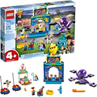 Lego Disney Pixars Toy Story 4 Buzz & Woodys Carnival Mania Playset with Shooting Game & Toy Story Characters, New 2019 (230 Pieces)