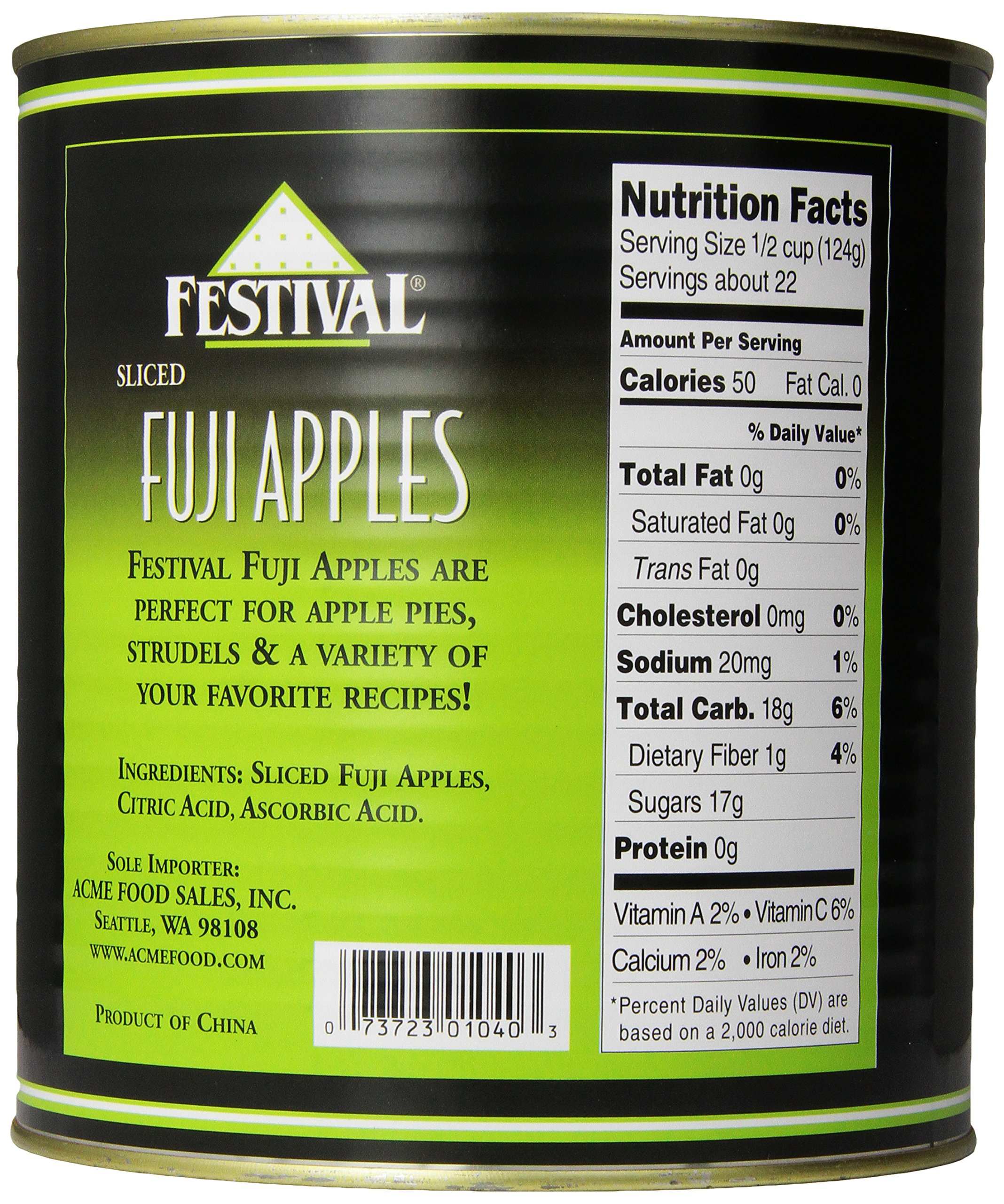 Festival Sliced Fuji Apples, 6-Pound (Pack of 2) by Festival (Image #4)