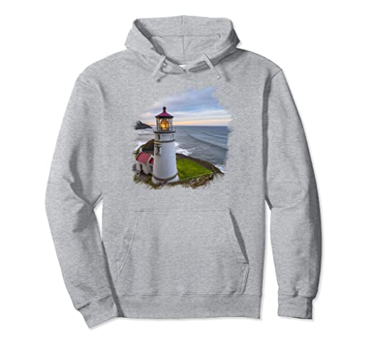 Heceta Head Lighthouse Pullover Hoodie