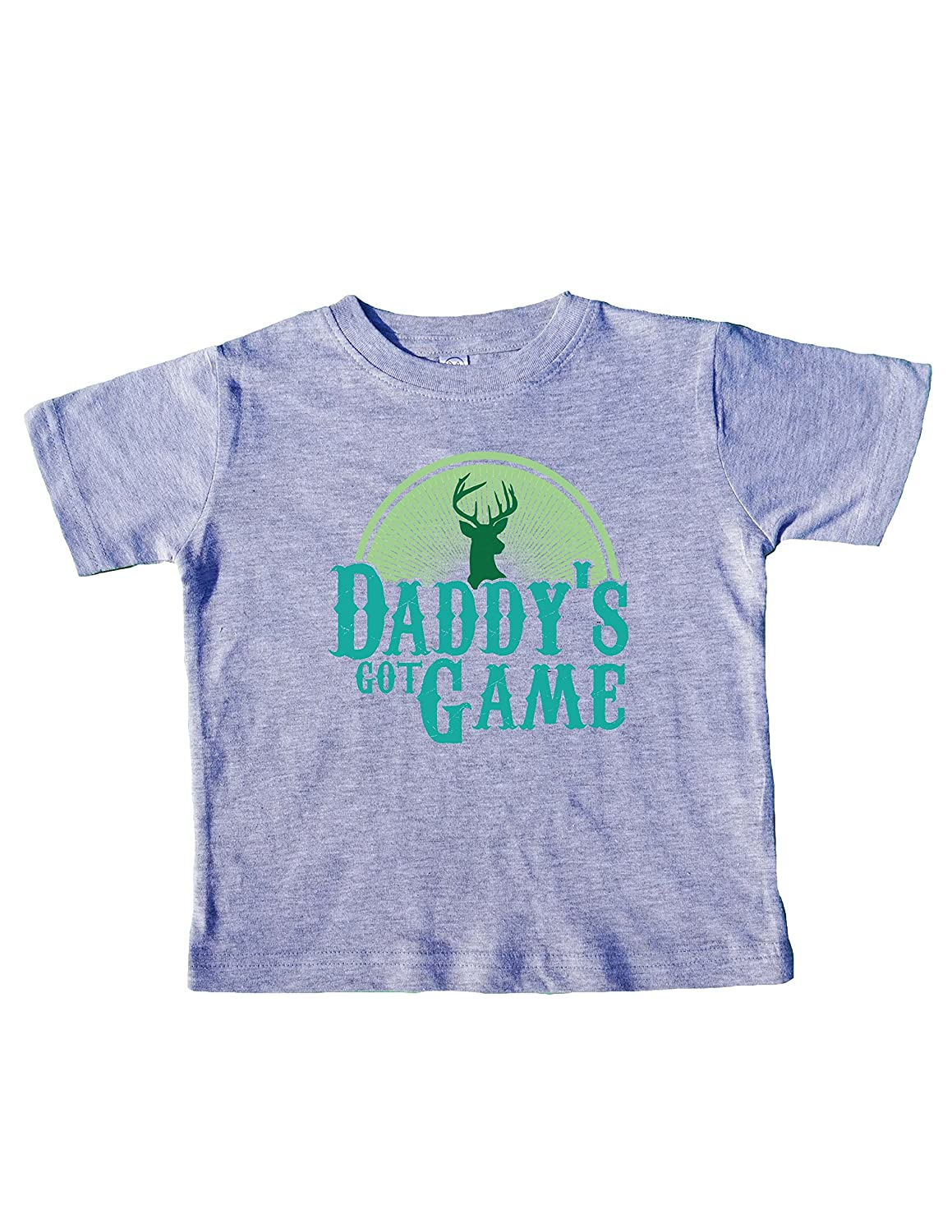 Funny Kids Toddler Shirts Daddys Got Game Royaltee Hunters Deer Collection