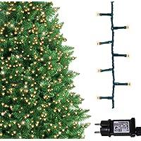 Árbol de Navidad Luces 500 LED 12.5m Blanco
