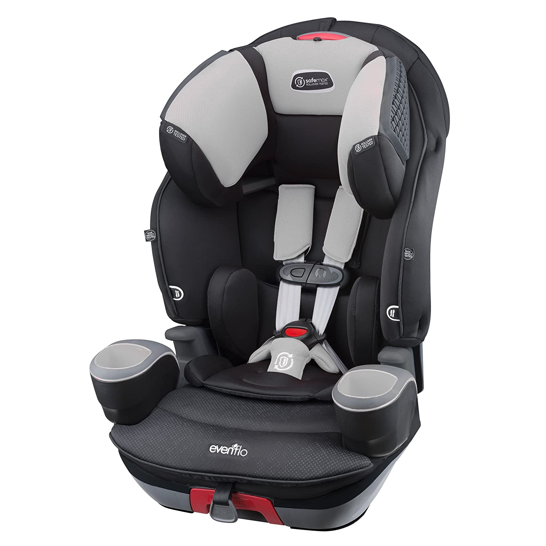 Evenflo SafeMax 3-in-1 Combination Booster Seat, Shiloh