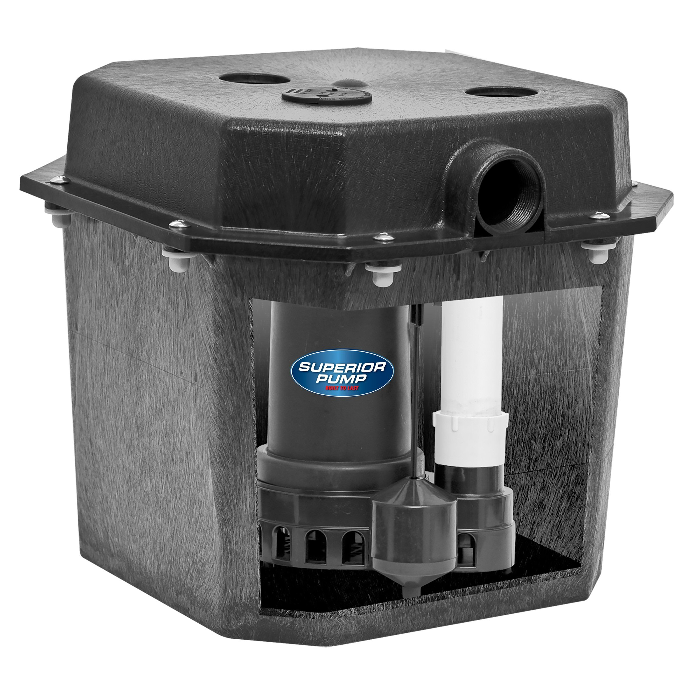 Superior Pump 92072-U remote drain pump kit.  Works great for laundry tubs, washing machines, wet bars and dehumidifiers