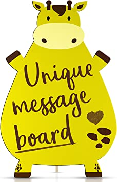 Amazon.com: Memo Message Board – Pizarra decorativa ...