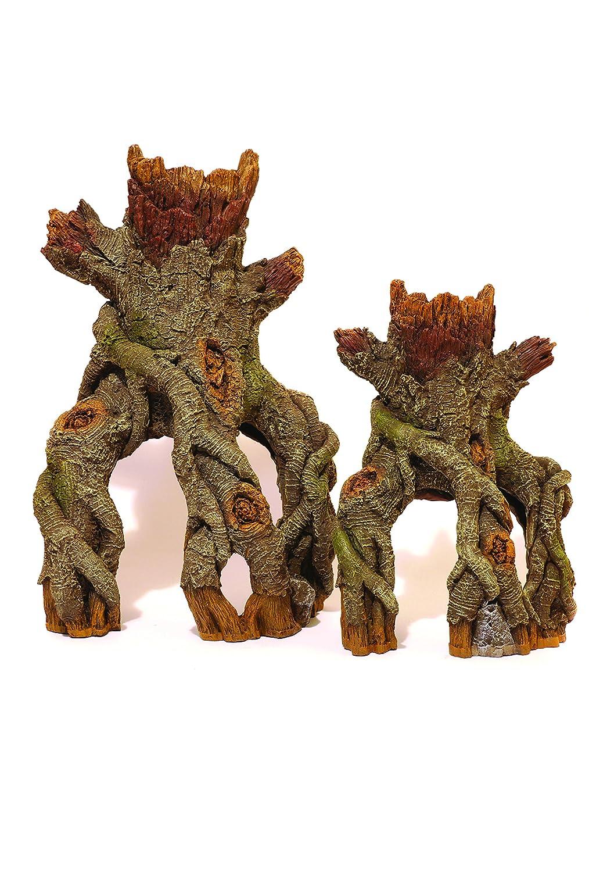 Rosewood Decoración de Acuario, Centro de Madera de Palisandro, Juego de Tronco y raíces: Amazon.es: Productos para mascotas