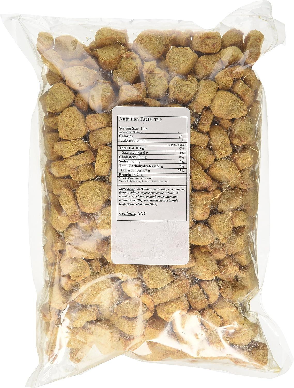 Textured Vegetable Protein Chunks, 1 lb.: Amazon.es ...