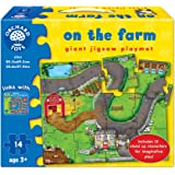 Orchard Toys on The Farm Giant Jigsaw Playmat Puzzle