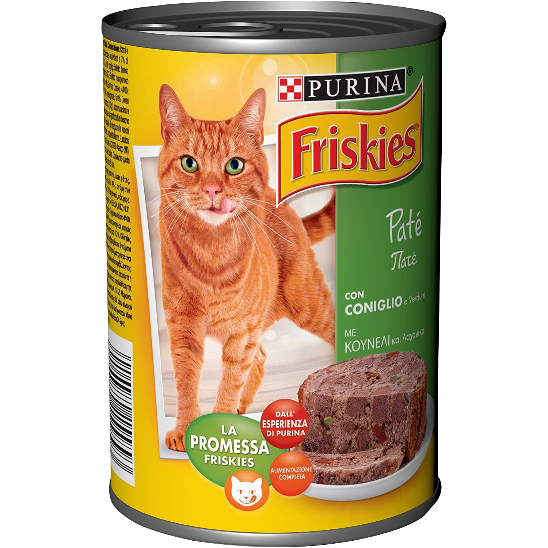 Friskies Inodoro Paté Conejo y Verduras 400 g - 24 Piezas: Amazon.es: Productos para mascotas