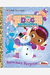 Snowman Surprise (Disney Junior: Doc McStuffins) (Little Golden Book) Kindle Edition
