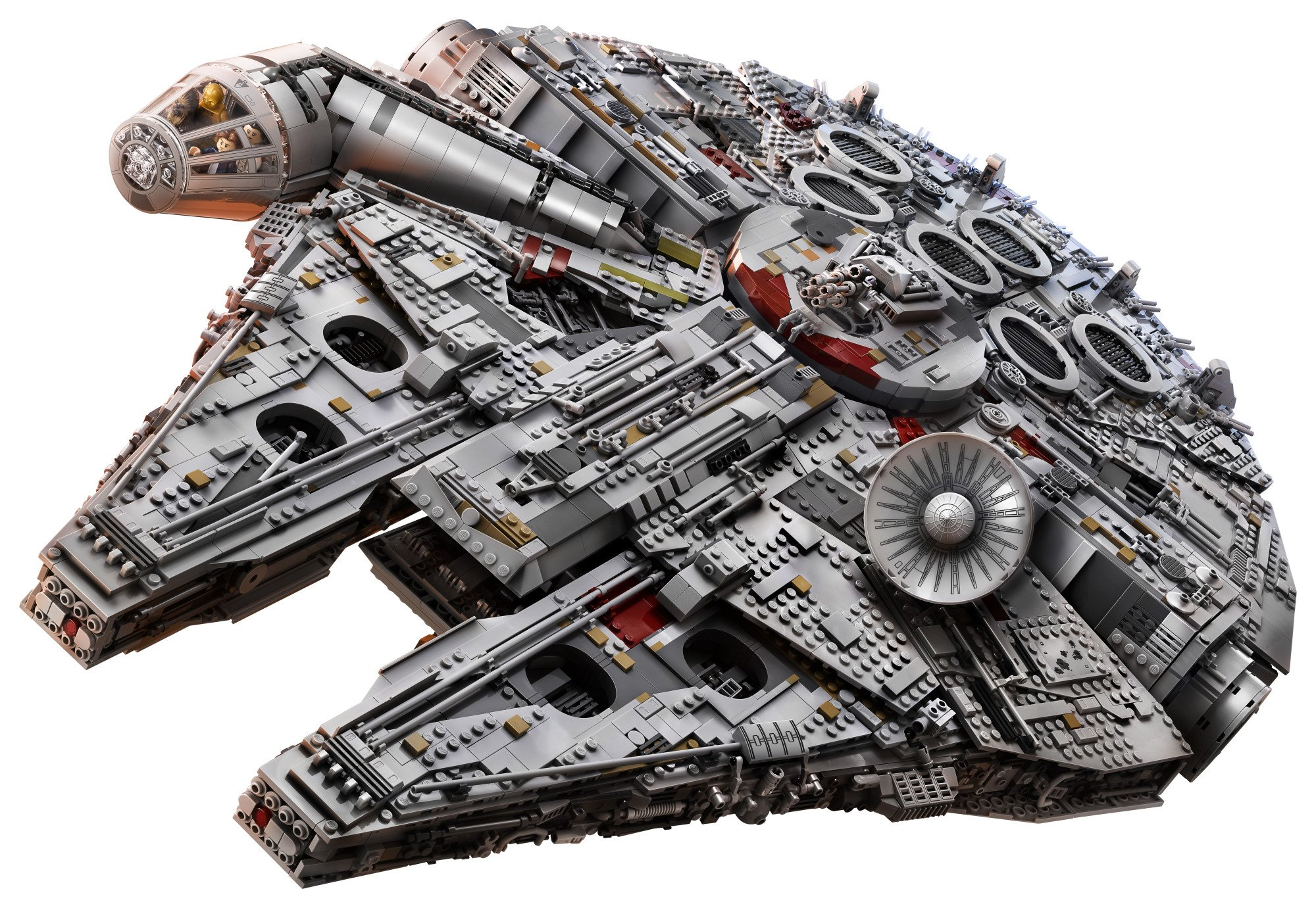 LEGO Star Wars Millennium Falcon 75192 Building Kit (7541 Piece) by LEGO (Image #2)