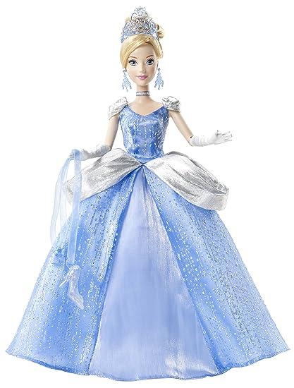 Disney Princess Cinderella Holiday Doll 2012