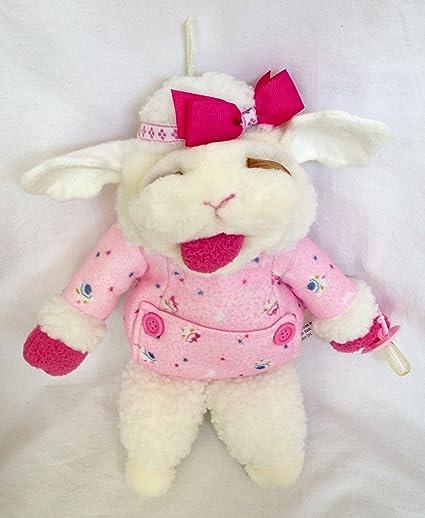 Amazon Com Shari Lewis Plush 13 Baby Lamb Chop Puppet In Pink