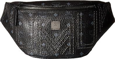 f6a5467c2ee MCM Women's Stark Gunta Studs Belt Bag Medium Black One Size ...