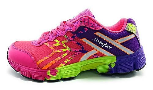 J`Hayber Richete zapatillas niño deporte (38 EU, Fucsia): Amazon.es: Zapatos y complementos