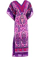 Hastkala Women's Boho Long Dress Cocktail Long Kaftan Party Evening Maxi Dress