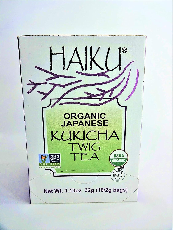 Haiku Organic Kuchika Twig Tea 2g bags/ 16 count