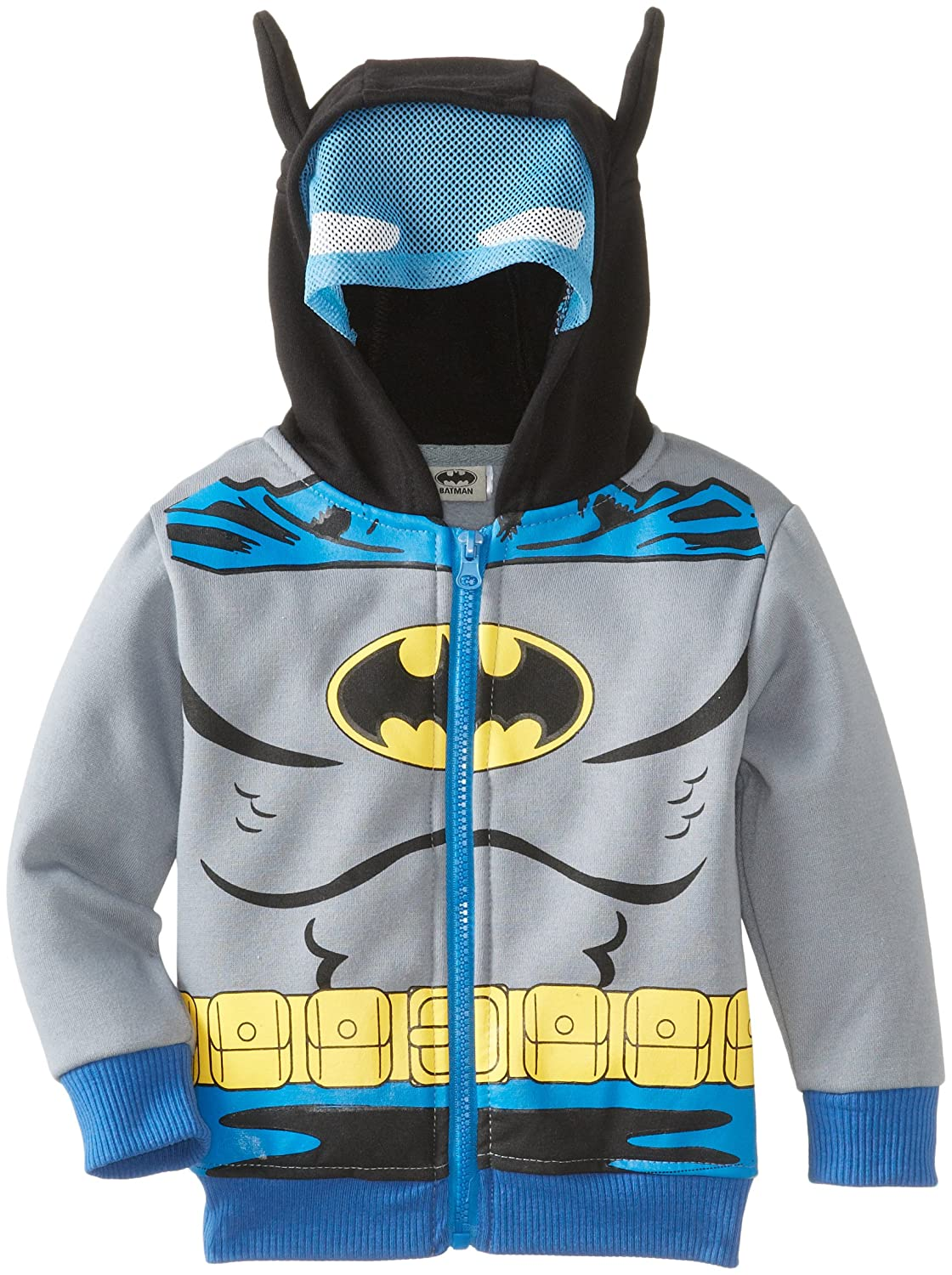 CAN DC Comics Baby Little Boys' Batman Fleece Masked Hoodie 502