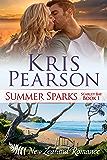 SUMMER SPARKS: Sexy New Zealand beach holiday romance (Scarlet Bay Romance Book 1)