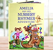 Grandson, Granddaughter Birthday Gift, A Personalized Book of Timeless Nursery Rhymes and Poems - Baby Niece, Nephew Present
