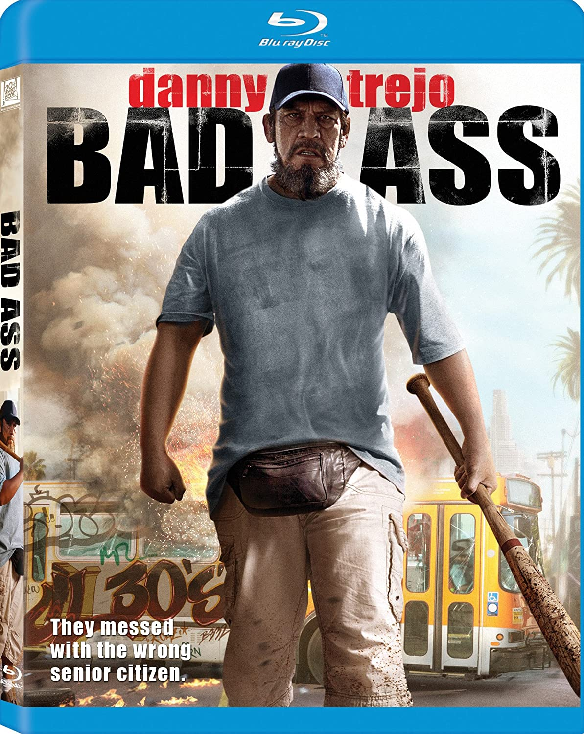 Bad Ass [Blu-ray] Danny Trejo Action / Adventure Movie Action & Adventure