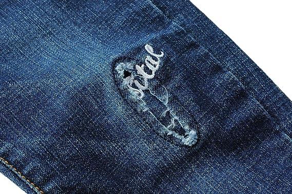 Echinodon Jungen Jeanshose Kinder Jeans Hose 100/% Baumwolle Leicht//Weich Fr/ühling Sommer Herbst