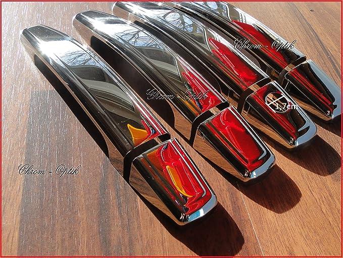/Zafira B/ /Astra H J/ /Antara cromo manillas para puerta de acero inoxidable Opel Corsa D/ /Insignia/