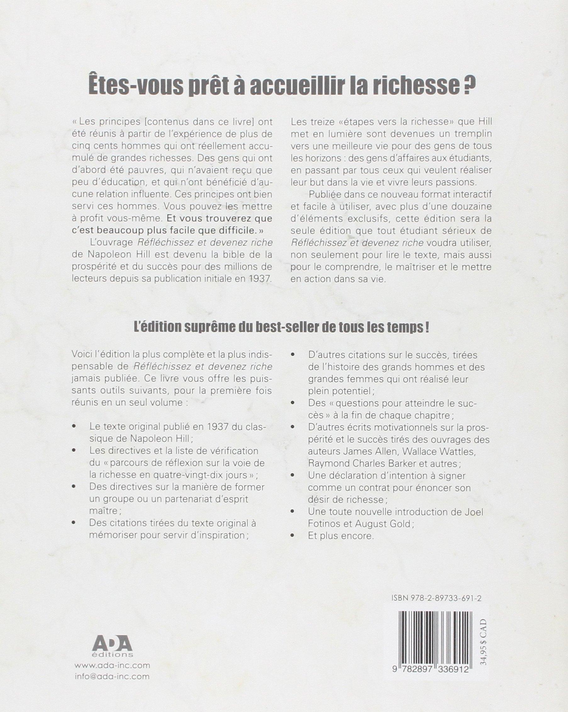 Riche De Le Devenez Grand Réfléchissez L Livre Et pqA7pwE