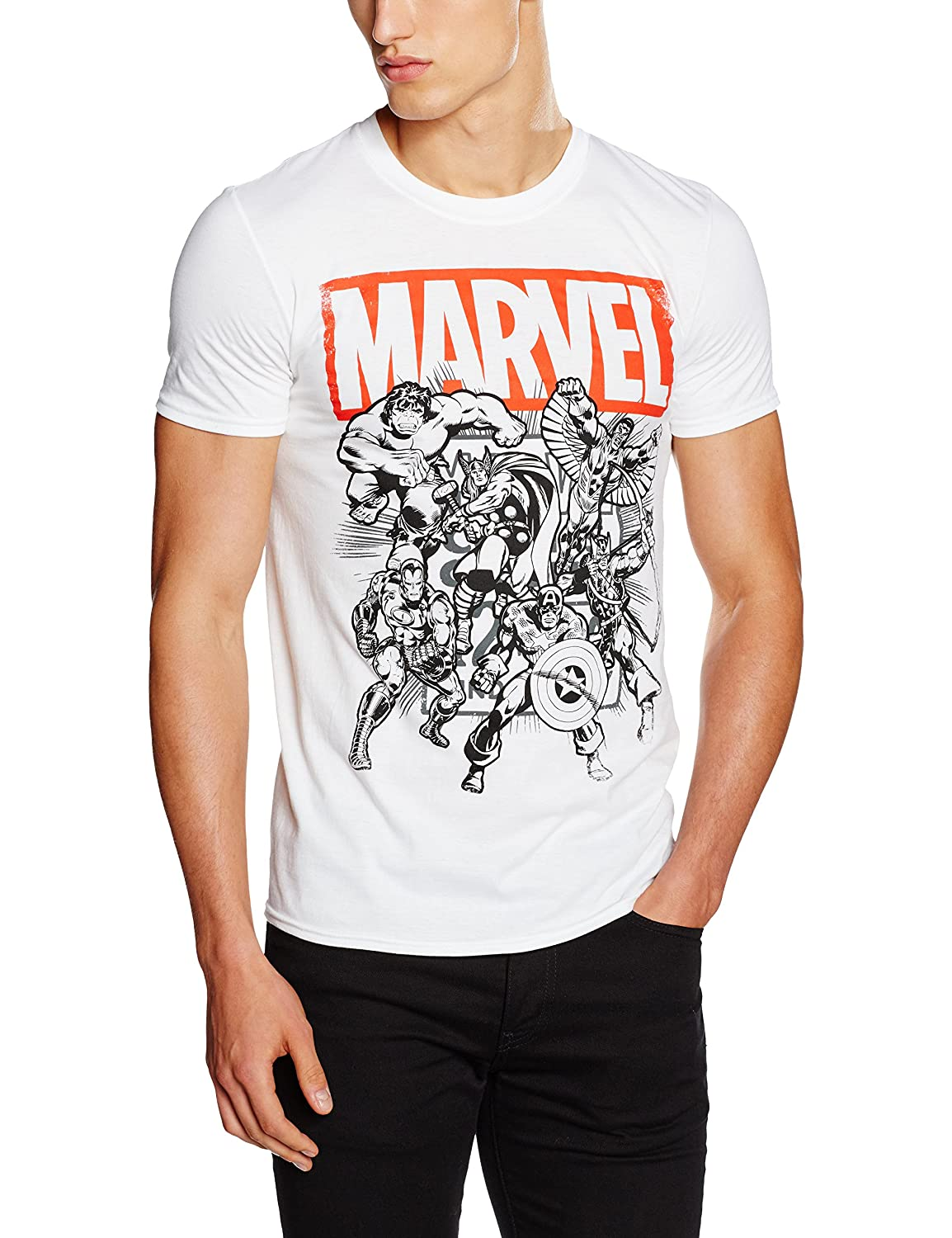 Marvel Collective T-Shirt Uomo