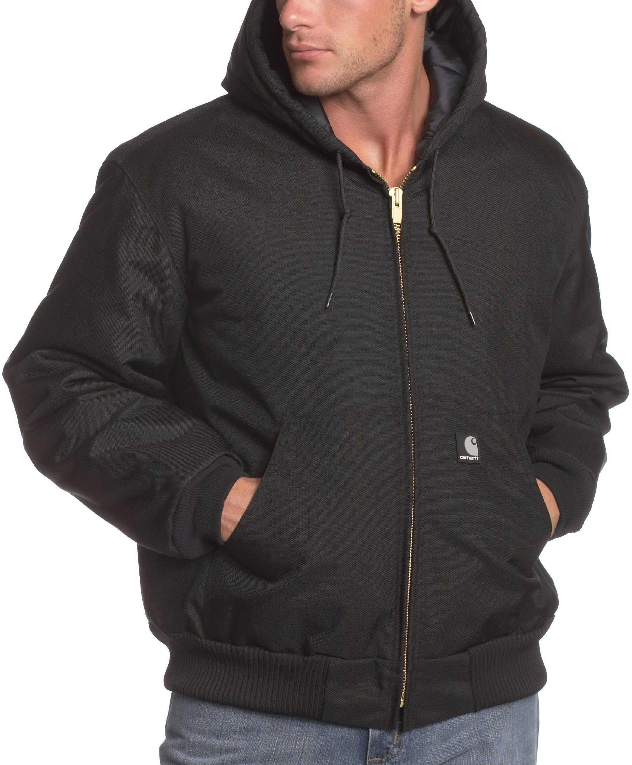Carhartt Men's Big & Tall Arctic Quilt Lined Yukon Active Jacket,Black,XXX-Large Tall