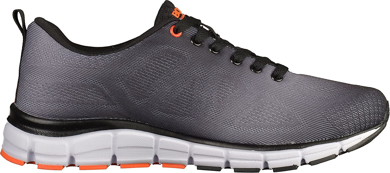 Boras 5201-0114 Chaussures de sport pour homme Noir Noir Gris