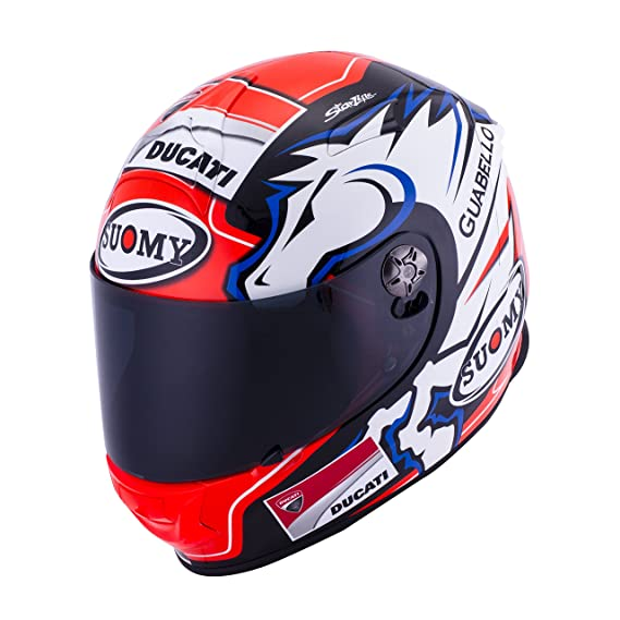 Amazon.es: SUOMY SR Sport - Casco para Moto Integral, Multicolor (New Dovi Replica Blue), M