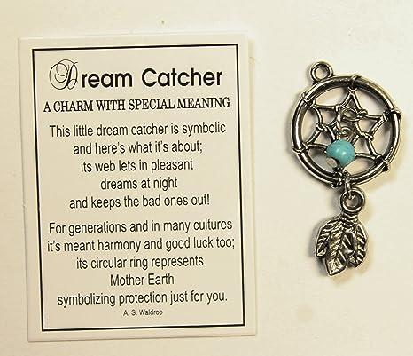 Amazon com: Tiny Little Dream Catcher Pocket Charm With