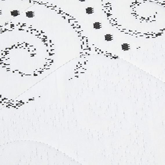 Sueño Contigo Berlin Colchón Viscoelástico, Viscoeltastica, Blanco y Negro, Matrimonial, 120 x 190 cm: Amazon.es: Hogar