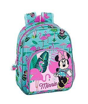 """Minnie Mouse """"Palms"""" Oficial Mochila Infantil 280x100x340mm"""
