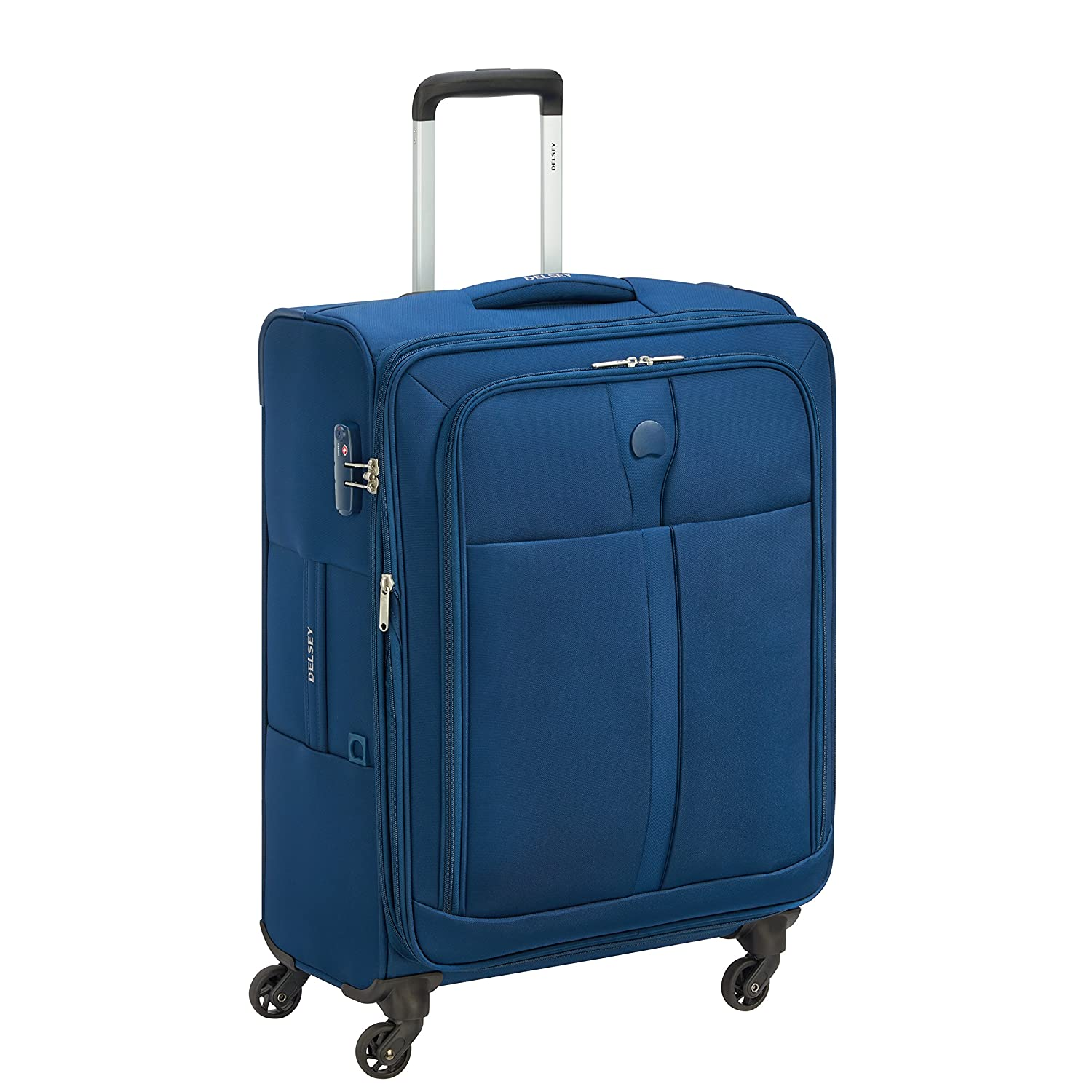 DELSEY Polyester 62 cms Navy Softsided Check-in Luggage (MALOTI)