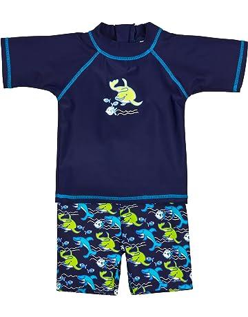 Landora®: Baby de/Niños Pequeños de baño Ropa 2 Unidades con protección UV