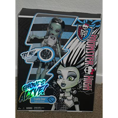 Monster High Ghoul's Alive! Frankie Stein Doll: Toys & Games
