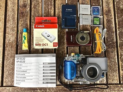Canon WP-DC22 Carcasa submarina para cámara: Amazon.es: Electrónica