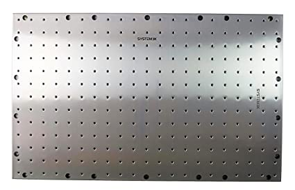 Metal Pegboard Stainless Steel Unique Threaded Holes By System X Storage  41u0026quot; ...