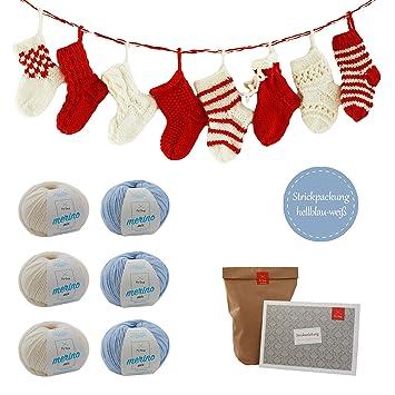 Adventskalender Socken Strickpaket Adventskalender Für 24 Kleine