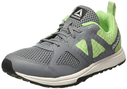 b0bc9ca22e2 Reebok Women s Dash Tr Dust Green Wht Slvr Blk Multisport Training Shoes