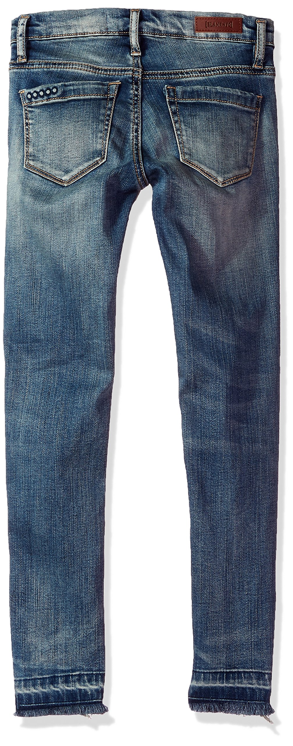 [BLANKNYC] Big Girl's Distressed Relaxed Skinny Pants, Fitz of Rage, 7 by [BLANKNYC] (Image #2)