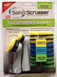 Sonic Scrubbies Starter Kit Kitchen & Household for Sonic Scrubber
