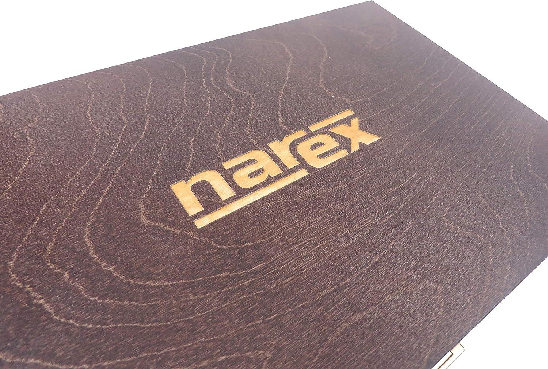 5 unidades Narex Richter Cincel biselado